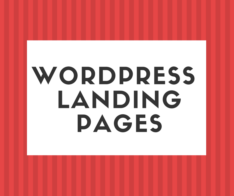 create-wp-landing-pages