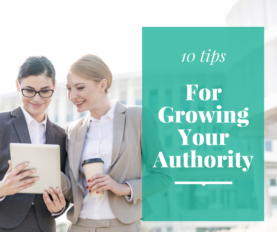 Growing Your Authority